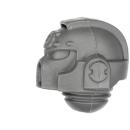 Warhammer 40k Bitz: Space Marines - Ultramarines Upgrades - Kopf C