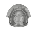 Warhammer 40k Bitz: Space Marines - Ultramarines Upgrade Pack - Shoulder Pad C