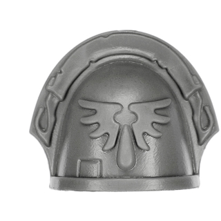 Warhammer 40k Bitz: Blood Angels - Blood Angels Upgrades - Shoulder Pad F