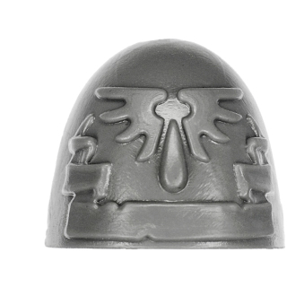Warhammer 40k Bitz: Blood Angels - Blood Angels Upgrades - Shoulder Pad G