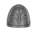 Warhammer 40k Bitz: Dark Angels - Upgrade Pack - Shoulder Pad B