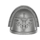 Warhammer 40k Bitz: Dark Angels - Dark Angels Upgrades - Shoulder Pad I