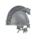 Warhammer 40k Bitz: Space Wolves - Wolfsgarde Terminatoren - Schulterpanzer D
