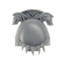 Warhammer 40k Bitz: Space Wolves - Wolf Guard Terminators - Shoulder Pad E