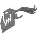 Warhammer AoS Bitz: ORRUKS - 003 - Boar Chariot - Accessory A - Banner
