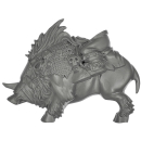 Warhammer AoS Bitz: ORRUKS - 006 - Warboss - Torso D1 - Boar, Left