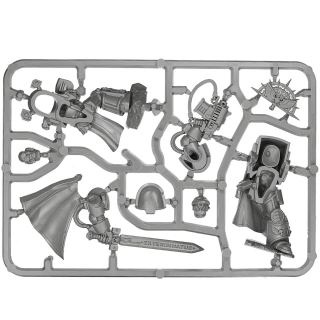 Warhammer SPRUES - 40k - Space Marines - A - Captain in Terminator Armour