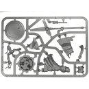 Warhammer SPRUES - 40k - TAU - A - Ethereal on Hover Drone