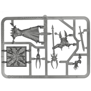 Warhammer Age of Sigmar Chaos Sorcerer Lord plastic box new
