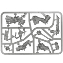 Warhammer SPRUES - AoS - Chaos - B - Khorne Bloodbound Slaughterpriest