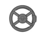 Warhammer 40k Bitz: Militarum Tempestus - Taurox - Accessory D2 - Steering Wheel