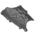 Warhammer 40k Bitz: Space Wolves - Wulfen - Accessoire A3 - Leg Plate, Right