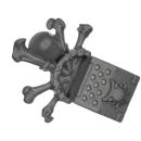 Warhammer 40k Bitz: Space Wolves - Wulfen - Accessoire H3 - Icon