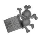 Warhammer 40k Bitz: Space Wolves - Wulfen - Accessoire H4 - Icon