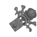 Warhammer 40k Bitz: Space Wolves - Wulfen - Accessoire H6 - Icon, Pack Leader