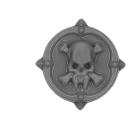 Warhammer 40k Bitz: Space Wolves - Wulfen - Accessoire K - Shoulder Shield