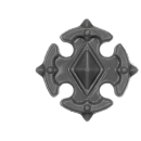 Warhammer 40k Bitz: Space Wolves - Wulfen - Accessoire L - Shoulder Shield