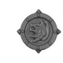 Warhammer 40k Bitz: Space Wolves - Wulfen - Accessoire N - Shoulder Shield