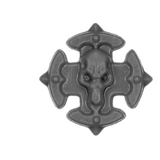 Warhammer 40k Bitz: Space Wolves - Wulfen - Accessoire O - Shoulder Shield