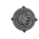 Warhammer 40k Bitz: Space Wolves - Wulfen - Accessoire Q - Shoulder Shield