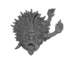 Warhammer 40k Bitz: Space Wolves - Wulfen - Head J