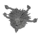 Warhammer 40k Bitz: Space Wolves - Wulfen - Kopf K - Pack...