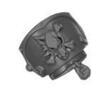 Warhammer 40k Bitz: Space Wolves - Wulfen - Schulterpanzer F